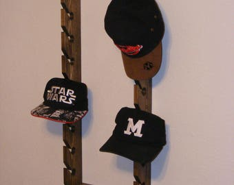 Double Cap Rack/Hat rack