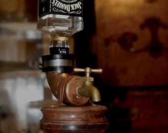 Walnut Liquor Dispenser
