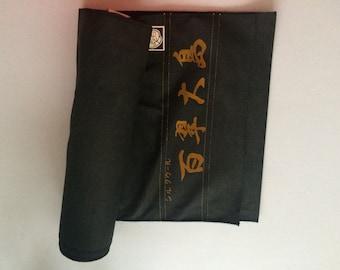 Roll of vintage kimono fabric