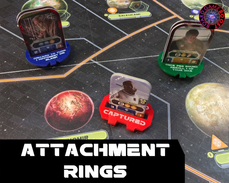 Star Wars: Rebellion Acrylic Attachment Rings image 0