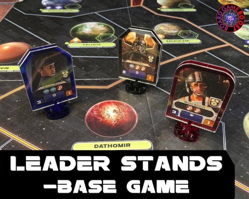 Star Wars: Rebellion Leader Stands BASE GAME image 0