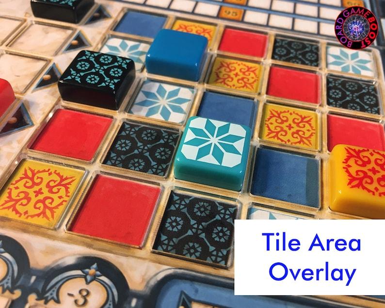 Azul TILE AREA Player Board Overlay image 0