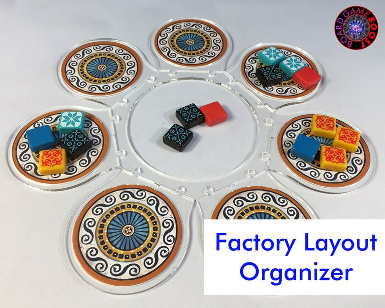 Azul/Azul: Stained Glass of Sintra Factory Layout Organizer image 0