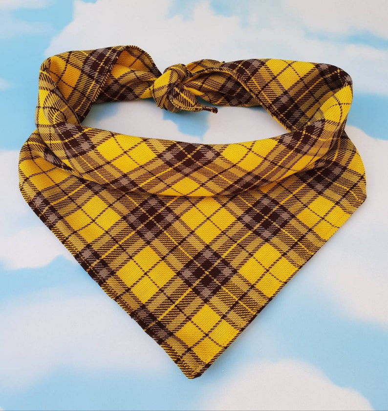 Support Our Troops Yellow Ribbons Dog Bandana XL 5 sizes XS