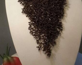 Brown Vine Necklace set