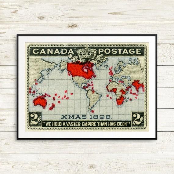 P028 Xmas 1898 Kanada Weihnachten Weihnachts-Stempel Kanada | Etsy