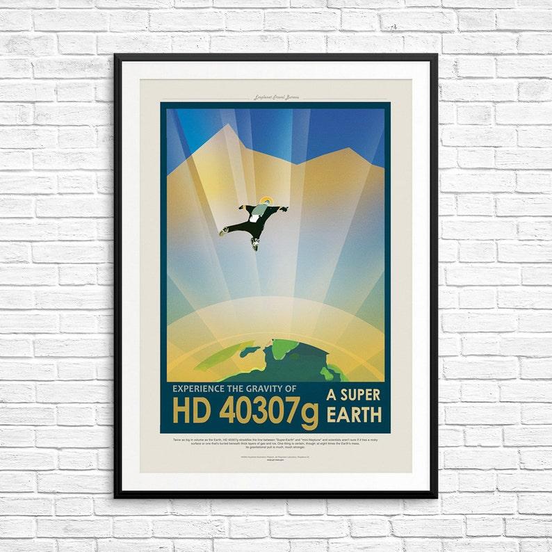 "Destination Moon Poster Replica 13x19/"" Photo Print"