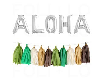 1e8ce81548de ALOHA Letter Balloons