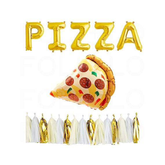 Pizza Banner Girlande TMNT druckbare Schildkröte Party   Etsy