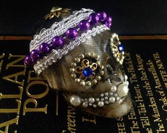 Decorated Skull Catacomb Saint Bodies Jeweled Gold Encrusted Skeleton
