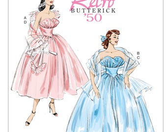 Ball Gown Pattern Etsy
