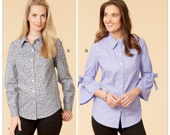 4f22ac976b6 Sewing Pattern for Womens Shirts in Misses Sizes