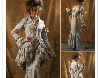 e1eece5583e Sewing Pattern Misses Cosplay Costume