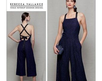 35028f1c8a55 Sewing Pattern for Misses   Misses Petite Jumpsuit