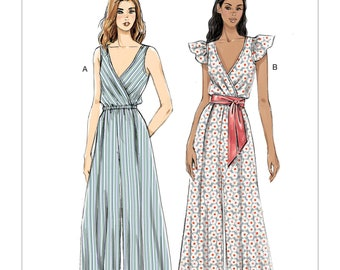 2a83999a5d59 Sewing Pattern for Misses JUMPSUIT