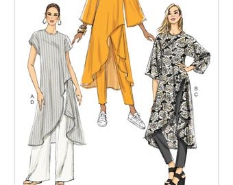 Sewing Pattern for Misses  TUNIC AND PANTS 311a2a04e