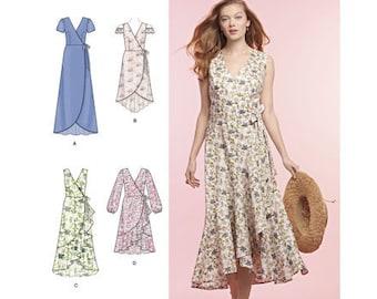 e9de9592d4b8 Sewing Pattern for Misses  Wrap Dress