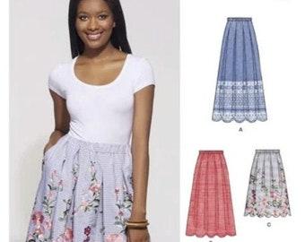 Denim Navy Skirt Noelle Skirt Blue Skirt Mini Skirt Ladies Skirts Scallop hem Scallop Scallop Hem Skirt Denim Skirt Plus Size Skirt