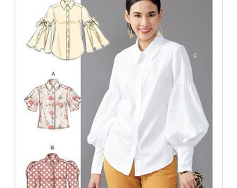 10ba4188023 Sewing Pattern for Misses Tops