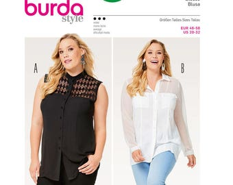 a82a7d7c9140b Sewing Pattern for Women s Plus Size Blouses