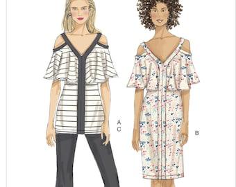 21491234209d2 Sewing Pattern for Misses  COLD-SHOULDER