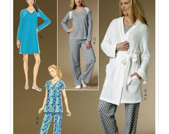 0d369aef32 Sewing Pattern for Misses Robe