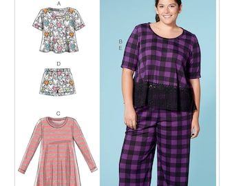 0226df6298 Sewing Pattern for Misses  Women s Lounge Tops