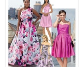Sewing Pattern for Womens Event Dress in Misses Plus Sizes, McCall 39 s Pattern M7895, New Pattern, Prom Dress, Special Occasion Dress