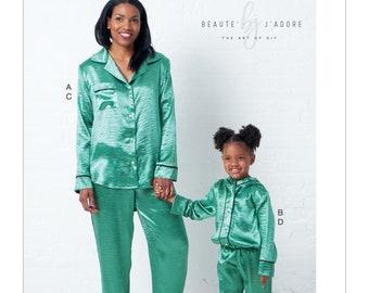 d55a7a95e Girls pajama pattern