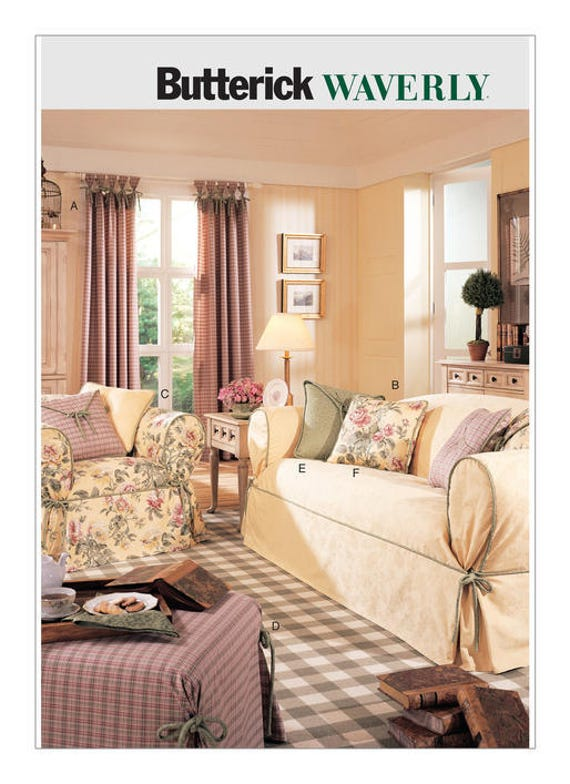 Fine Sewing Pattern For Drapes Slipcovers And Pillows Butterick Pattern B3877 Window Treatments Waverly Pattern Slipcovers Pillows Theyellowbook Wood Chair Design Ideas Theyellowbookinfo