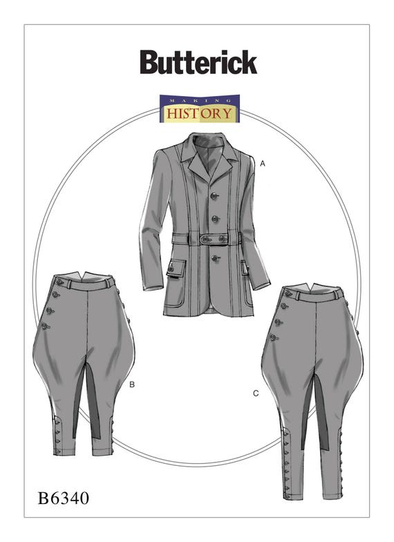 Sewing Pattern for Men\'s Banded Jacket Breeches and   Etsy