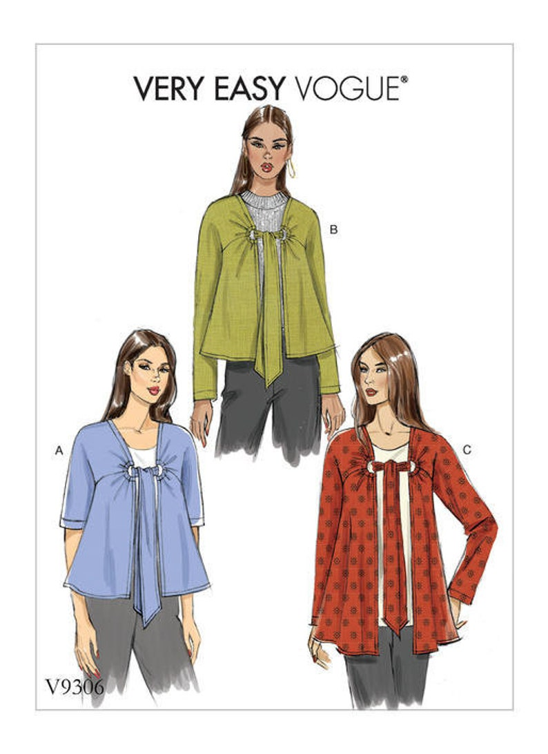 ... Free UK P/&P Vogue Ladies Easy Sewing Pattern 9008 Shorts in 3 Lengths