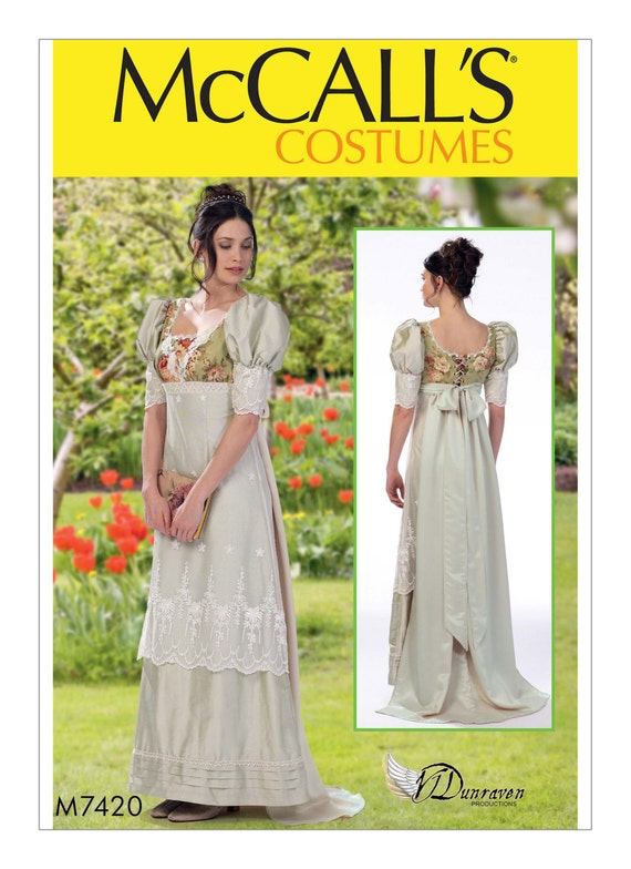 Sewing Pattern for Misses Costume ,McCall\'s Pattern 7420, Laced Back ...