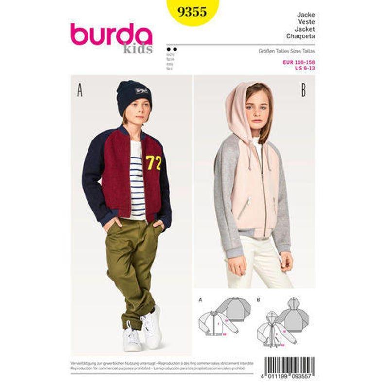b00a59810 Sewing Pattern Girl Girl Plus Jacket