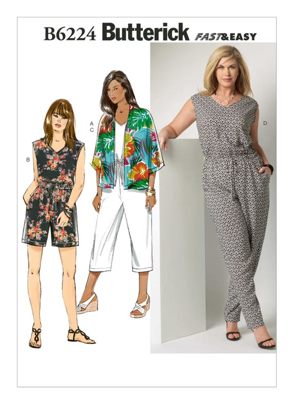 Sewing Pattern for Women\'s PLUS Size Kimono Jacket | Etsy