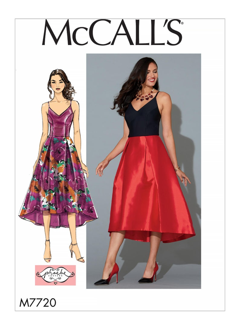 72a9b8f38ce49 Sewing Pattern Misses Dresses McCalls Pattern M7720 New | Etsy