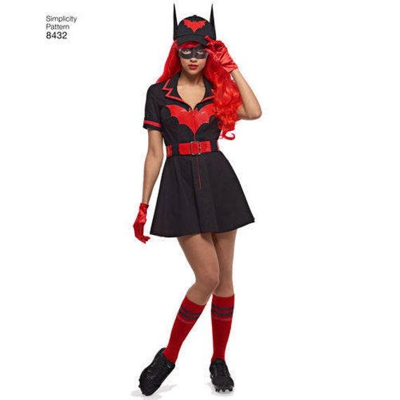 Women//girls Swimming Costume Bat man Joker  Design  one size fit UK 8-10