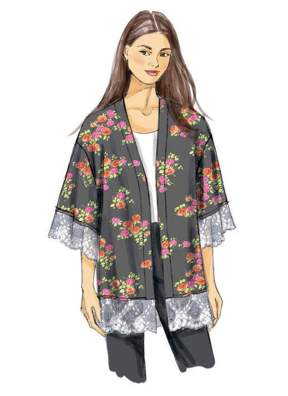Sewing Pattern for Misses KIMONO JACKETS Vogue Pattern V9115