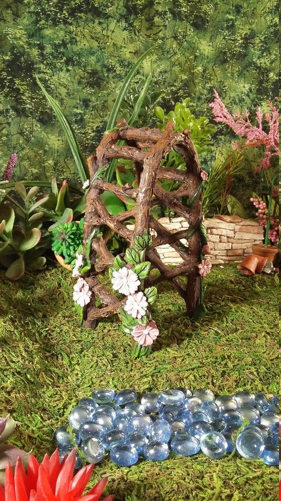 Fairy Garden Miniature Garden Arbor Resinfor Fairy Garden