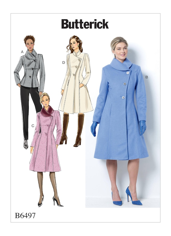 Sewing Pattern Misses Misses Petite Jacket Coats Etsy