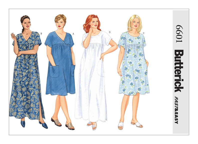 0f3c86ec53 Sewing Pattern for Womens Sizes 16W to 32W Butterick Pattern