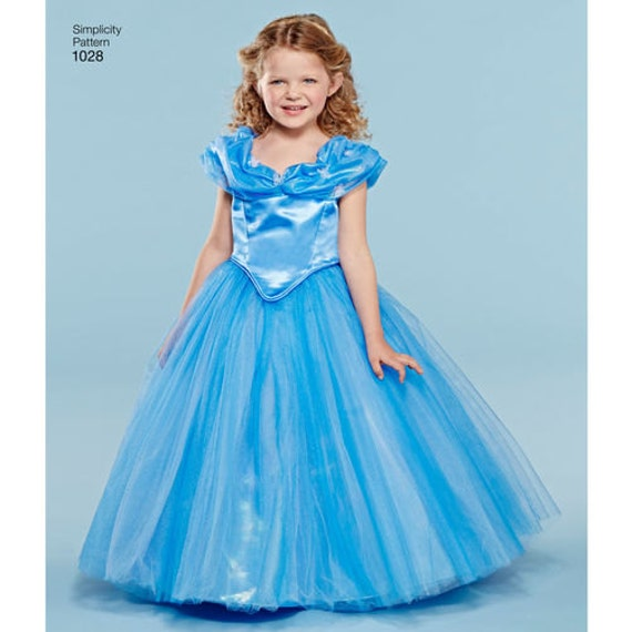 Sewing Pattern for Disney Cinderella Costumes for Child & | Etsy