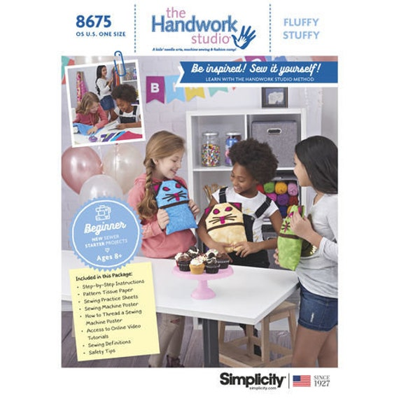 Sewing Pattern For The Handwork Studio Learn To Sew Etsy