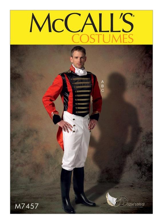 Sewing Pattern for Men\'s Embellished Jacket Pull-On Pants | Etsy