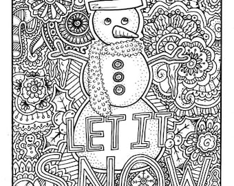 Diy Christmas Cards Christmas Coloring Cards Adult Coloring