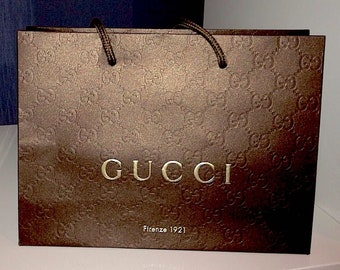 3625c79f20fd5 Gucci shopping bag | Etsy