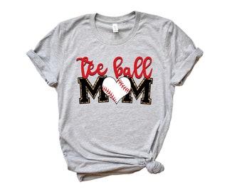Tball Mom Shirt Etsy