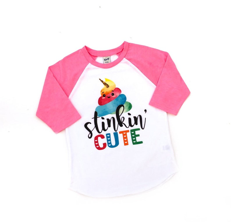 poop tshirt rainbow poop rainbow unicorn poop shirt rainbow poop theme poop birthday party stinkin/' cute cute girls poop shirt