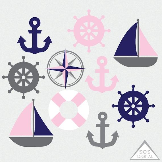 Pink Anchor Clip Art at Clker.com - vector clip art online, royalty free &  public domain