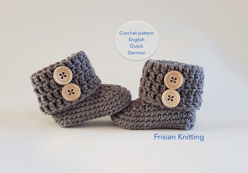 Pattern baby booties baby uggs crochet pattern crochet baby   Etsy